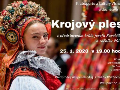 Krojový ples s představením nového krále Josefa Pavelčíka